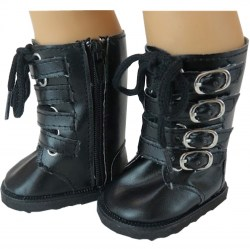 black-buckle-boots