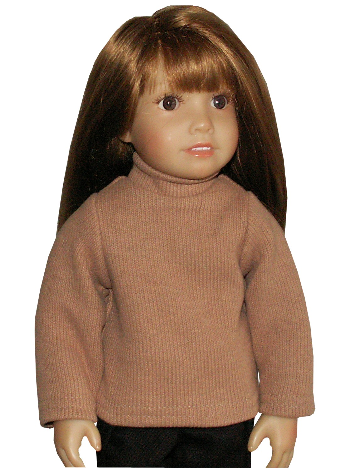 Mocha Brown Turtleneck