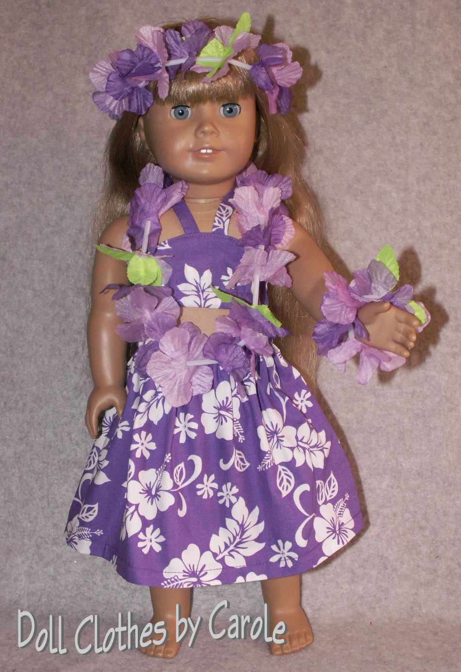 f7399b45f13 Purple Hawaiian Outfit