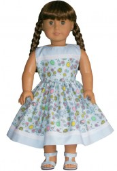 american-girl-blue-easter-dress