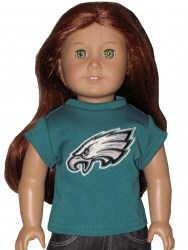 american-girl-eagles-teal-tee