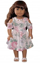 american-girl-off-shoulder-floral-dress