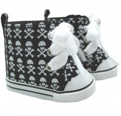 american-girl-skull-crossbones-sneakers-black