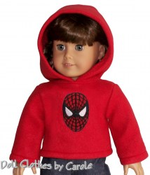 american-girl-spiderman-red