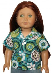 american-girl-teal-hawaiian-camp-shirt