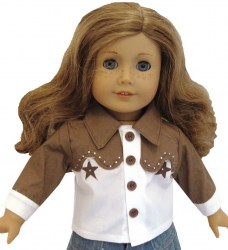 american-girl-western-shirt-brown