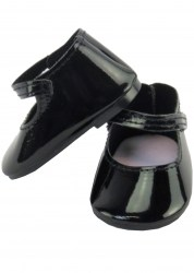 black-shiny-mary-janes