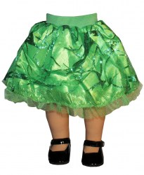 green-sparkle-skirt
