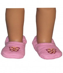 pink-butterfly slippers