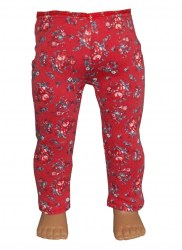red-floral-leggings