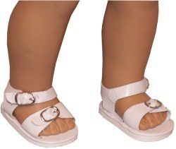 white-buckle-sandal