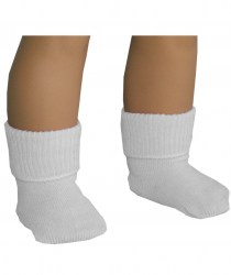 white-fold-over--socks