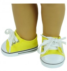 yellow-canvas-sneakers