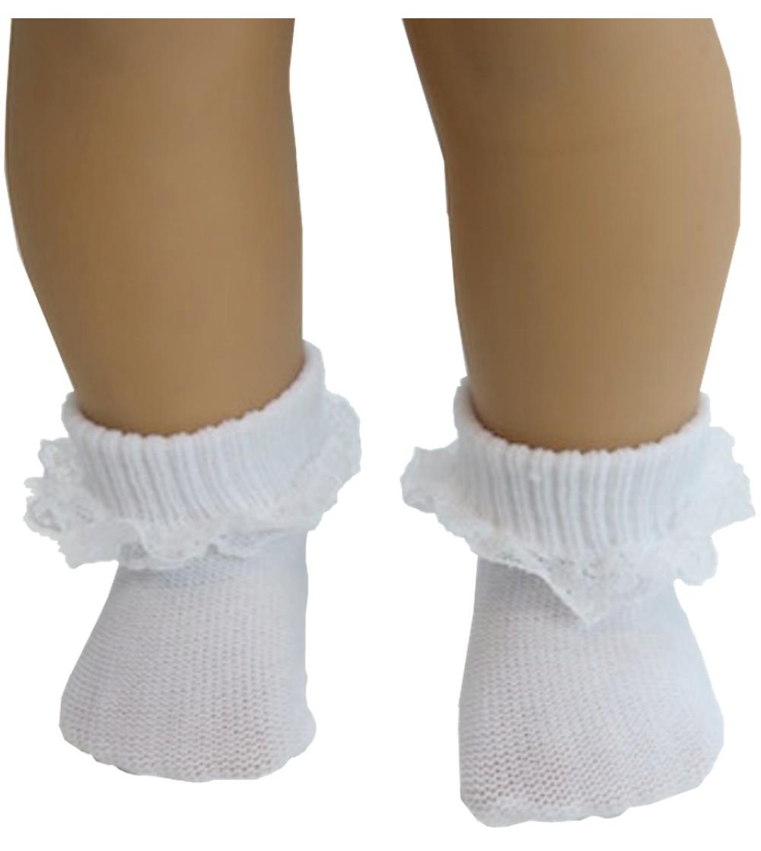 c9d00758960 White Lace Anklets